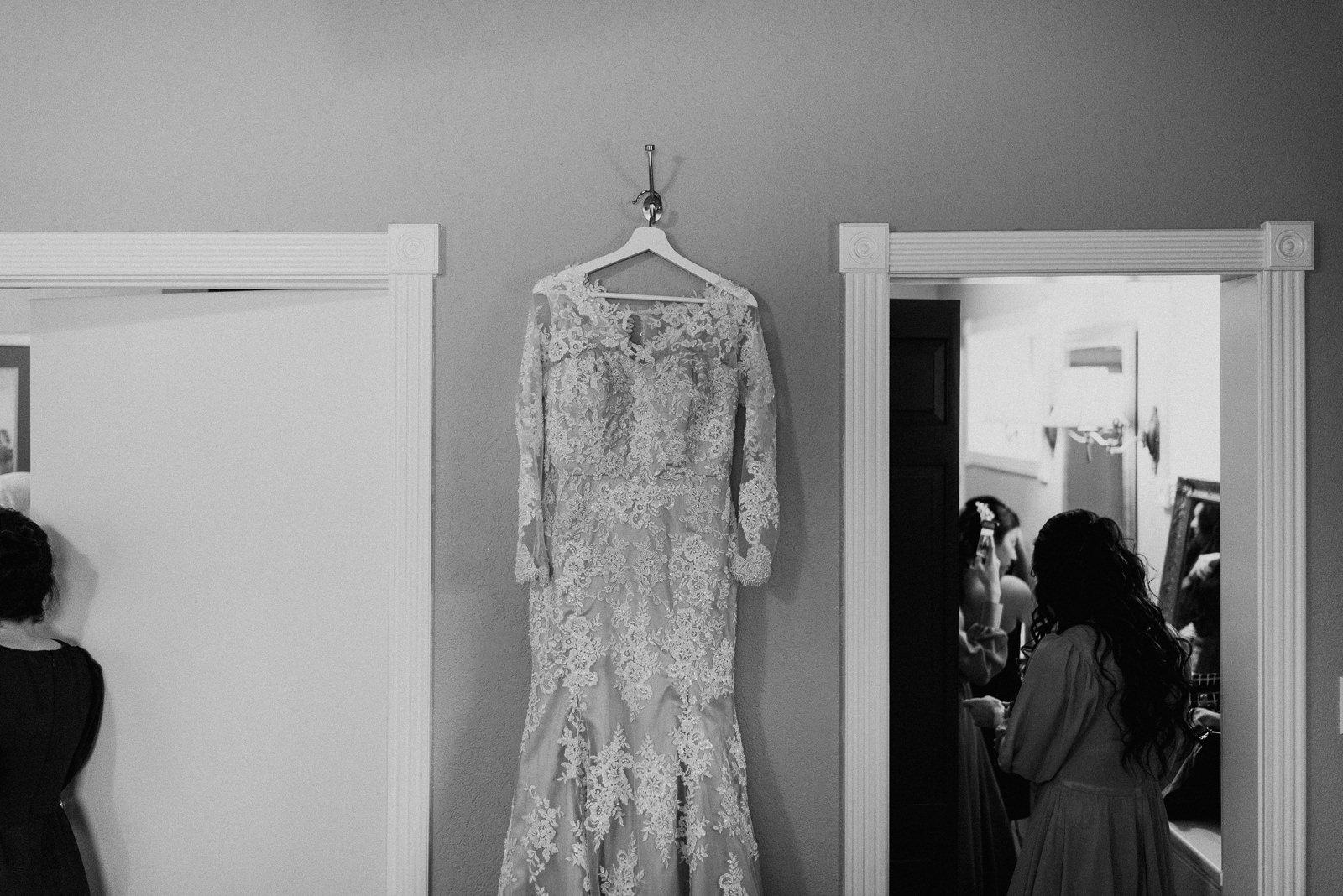 custom wedding dress at stonehouse villa
