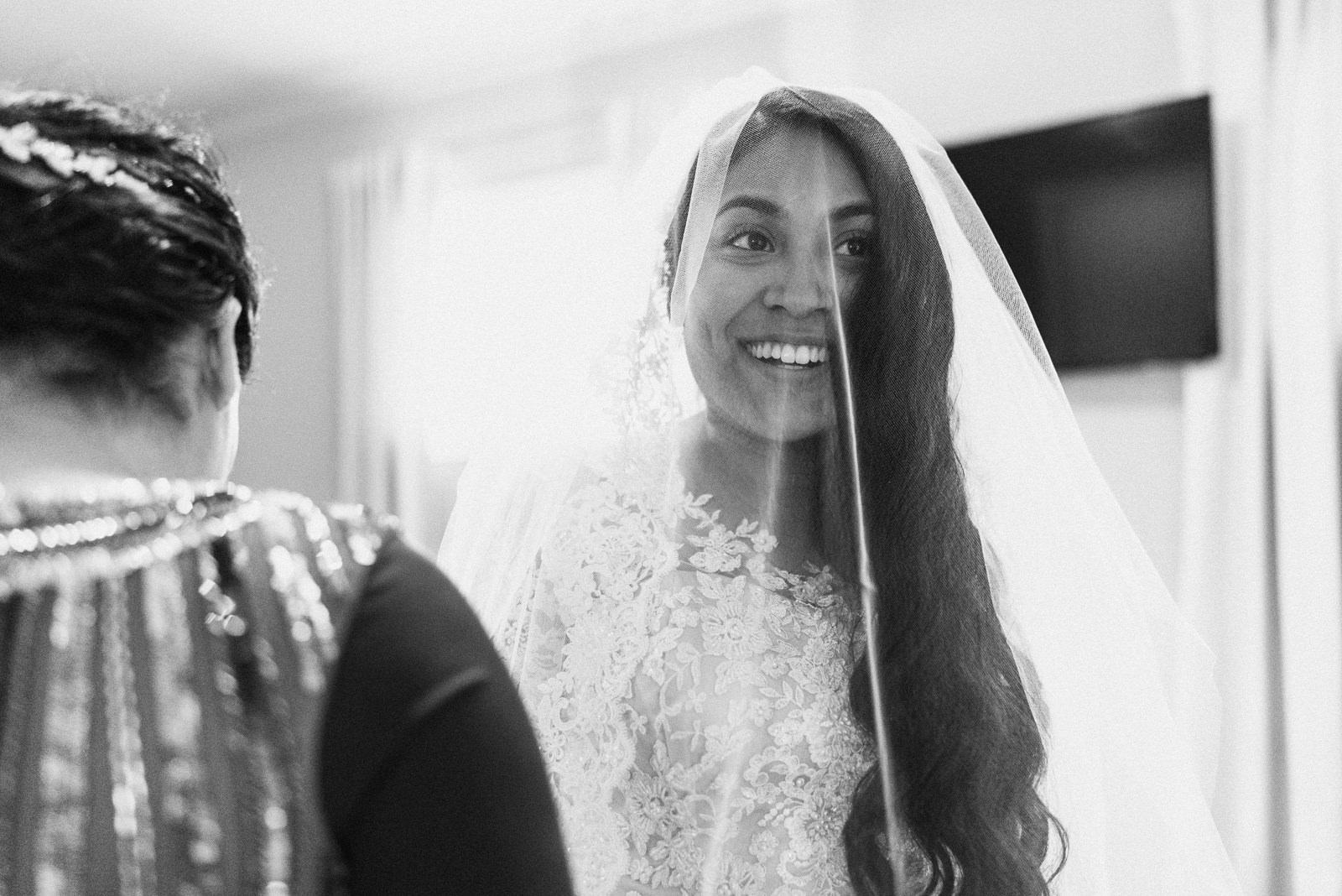 bride gets ready before austin texas wedding