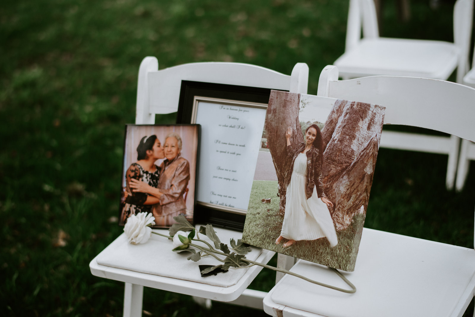 memoriam seat at wedding