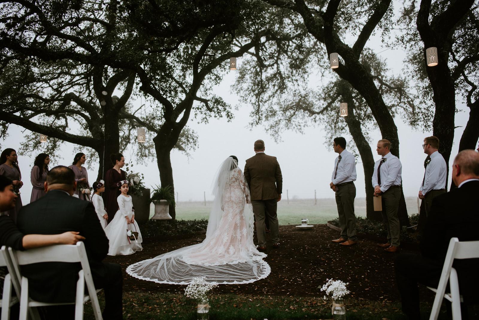 stonehouse villa texas wedding ceremony