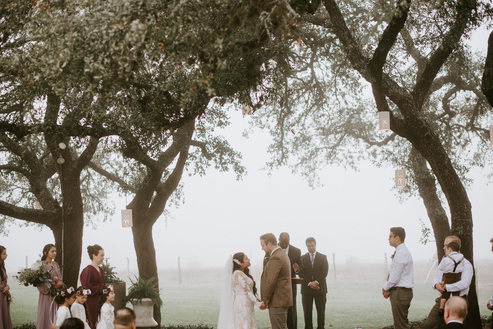 a stonehouse villa wedding ceremony