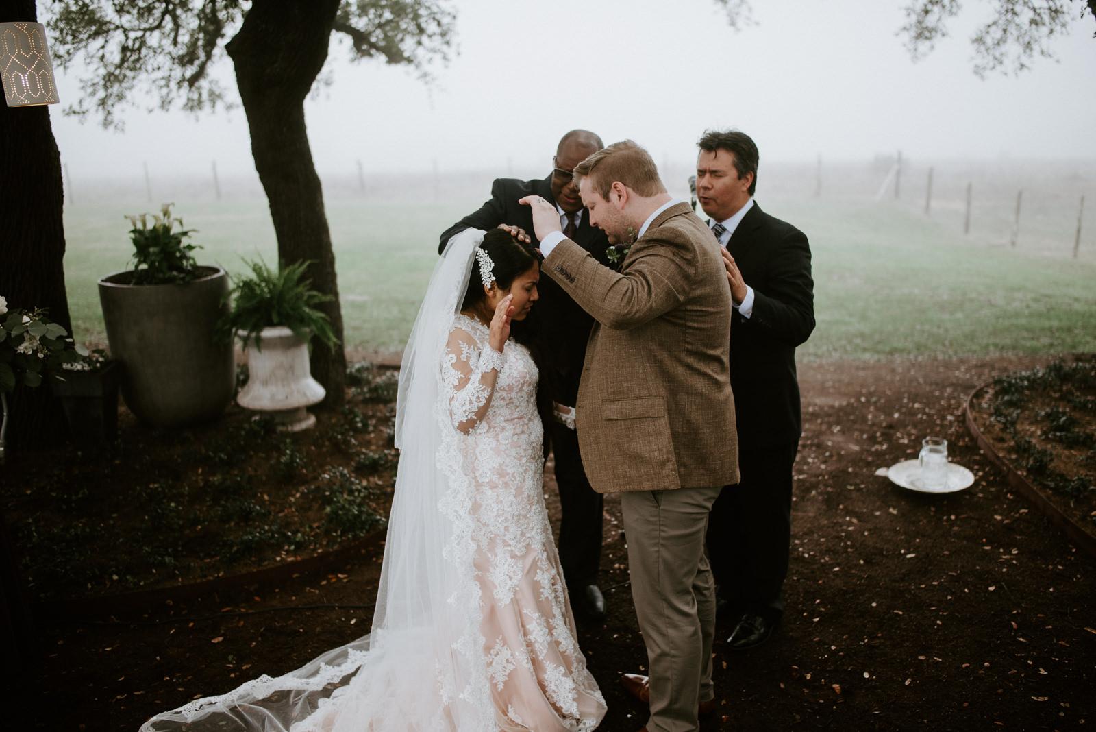 prayer at christian wedding