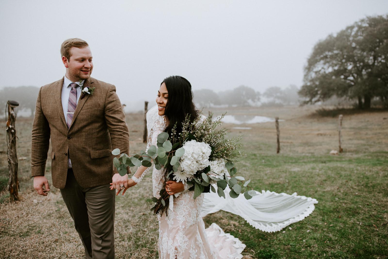 texas foggy wedding at stonehouse villa