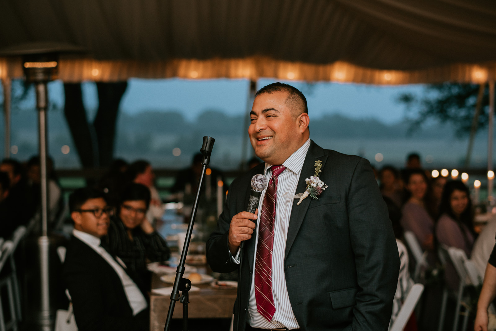 father of bride gives funny speech