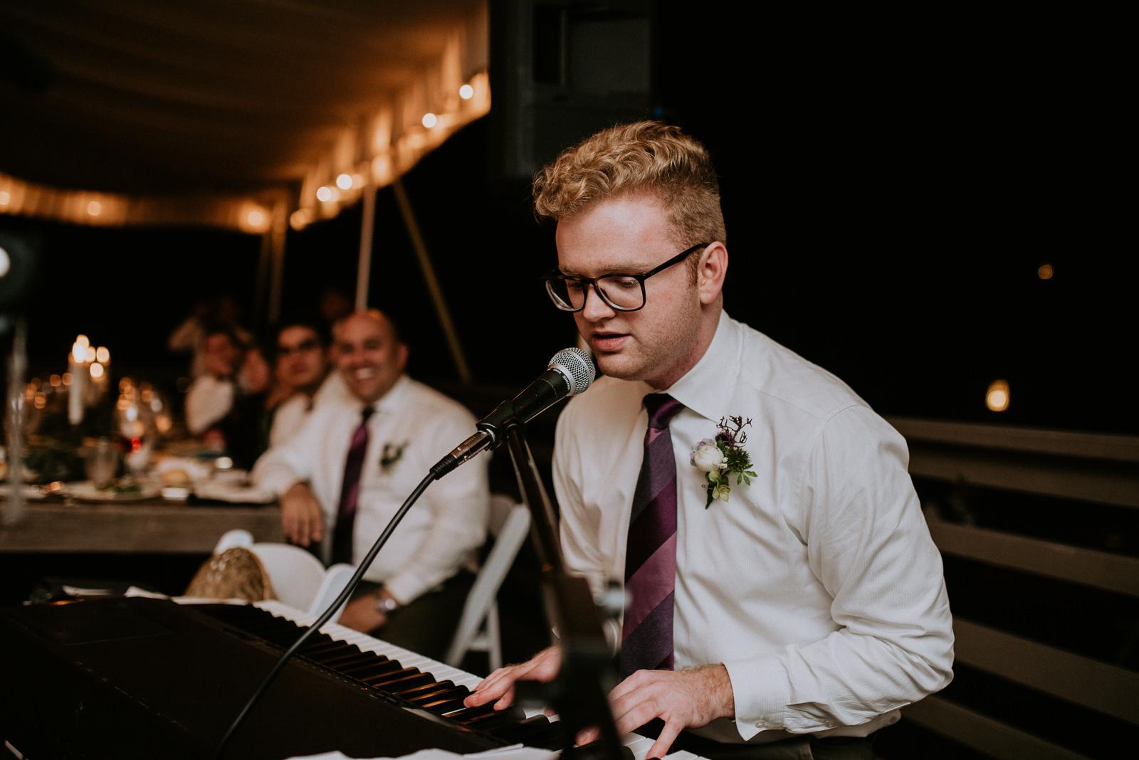 wedding reception band