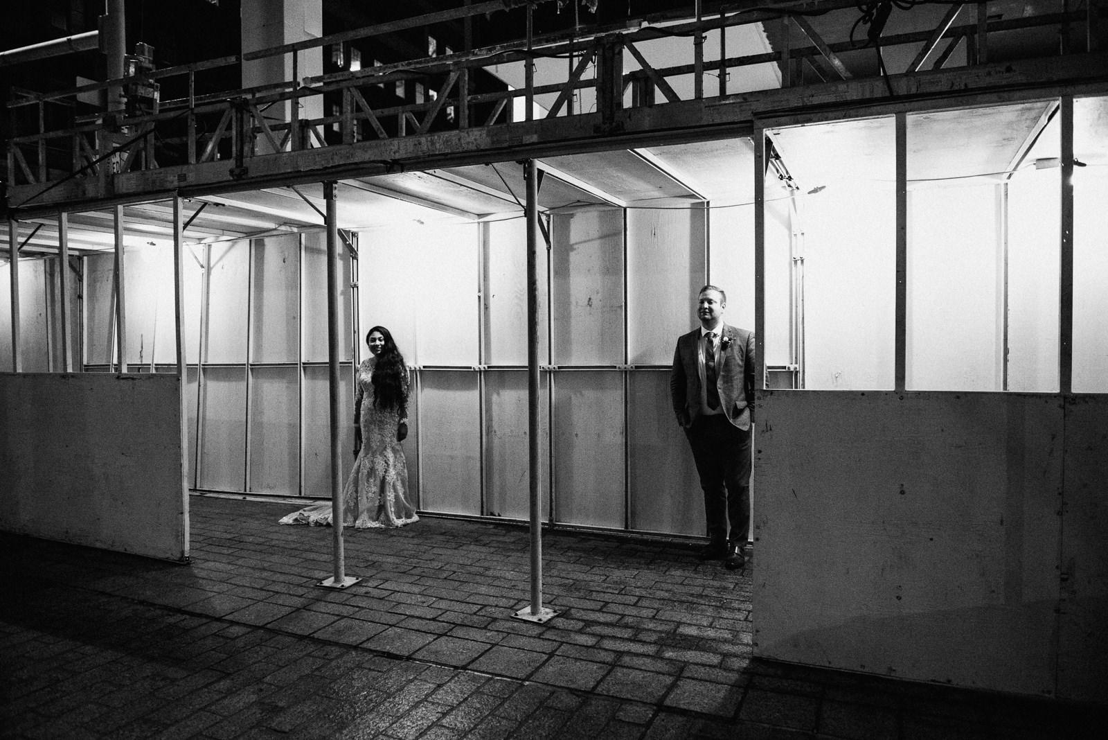 urban wedding portraits in austin