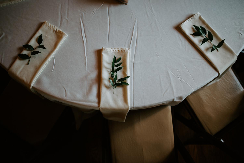 houston wedding table setting