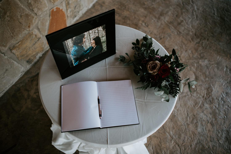 Houston wedding guest book