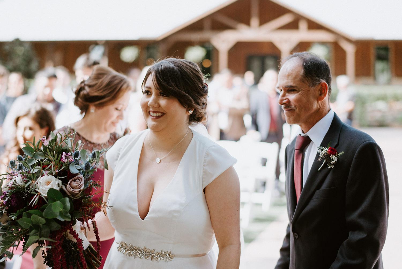 Wedding ceremony in  houston texas