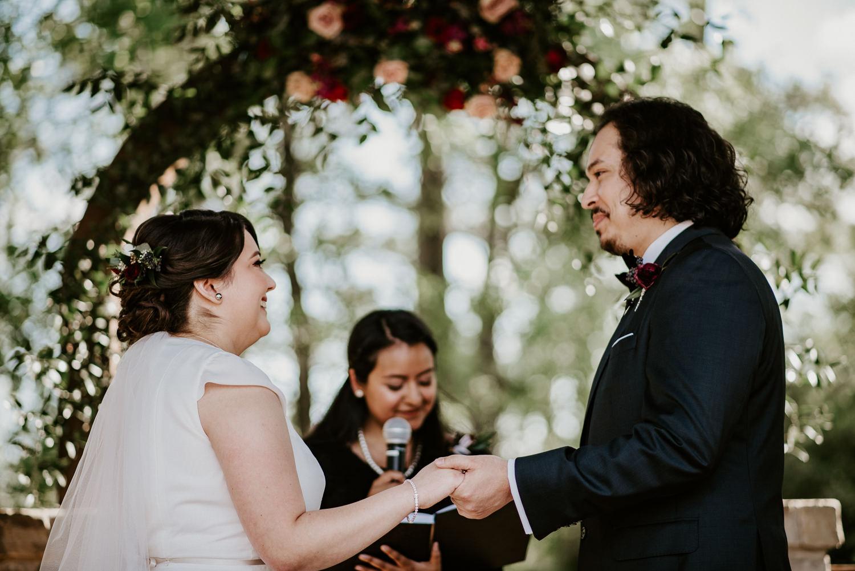 wedding ceremony in texas