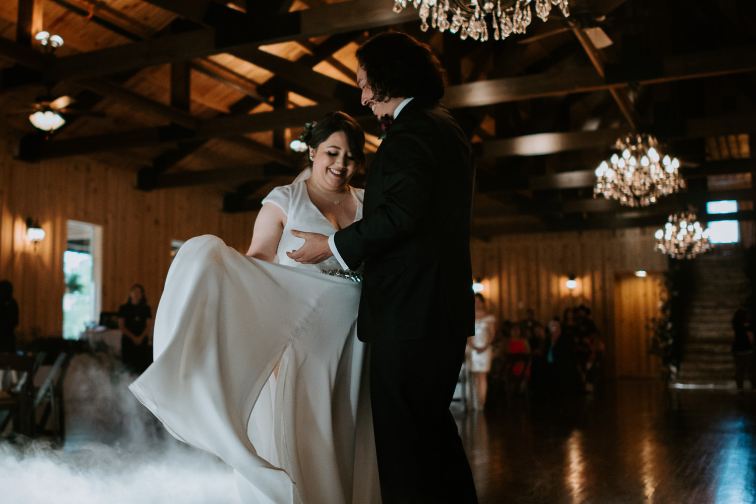 wedding reception at The Springs in The Woodlands Event Venue