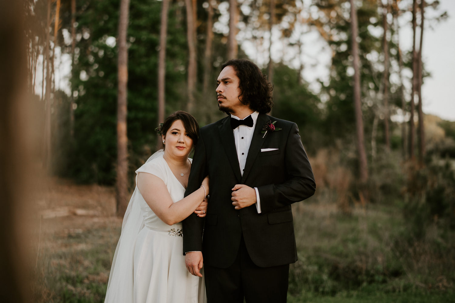 bride and groom portraits by donny tidmore photography