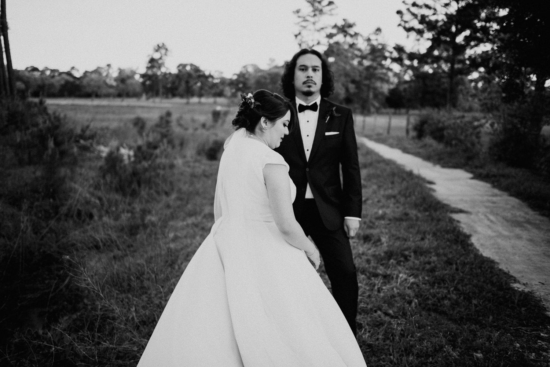 wedding day portraits in houston texas