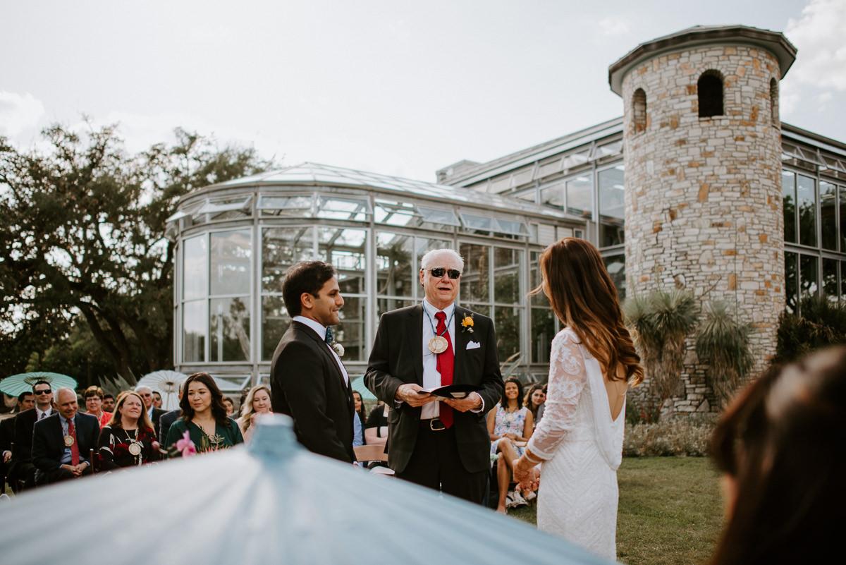 wedding ceremony in driftwood texas