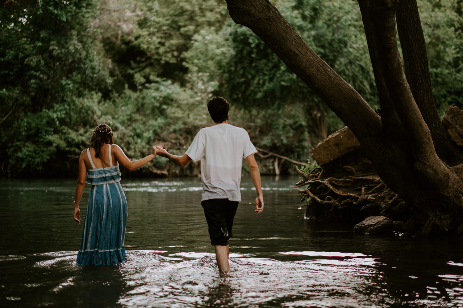 San Marcos River Engagement Session