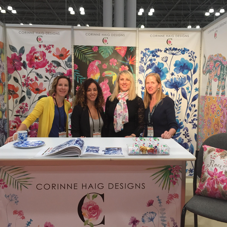 Pictured: Jennifer Speer, Dariana Cruz, Corinne Haig and Melissa Hyatt