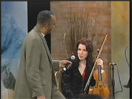 """Katherine Hughes and her quintet perform on ABC's """"Chicagoing with Bill Campbell""""  . A DVD is available upon request."""