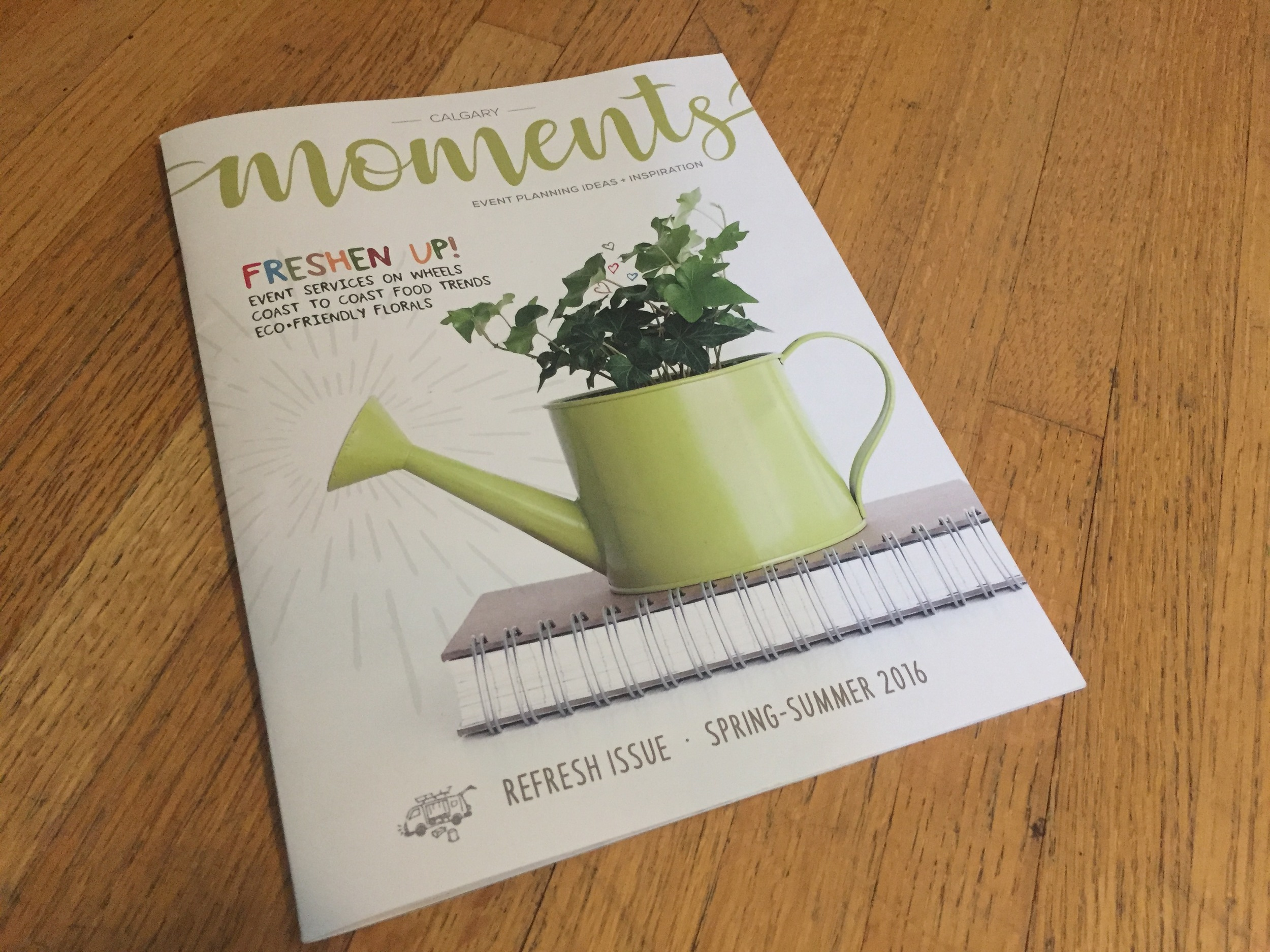 Moments Magazine Refresh Issue