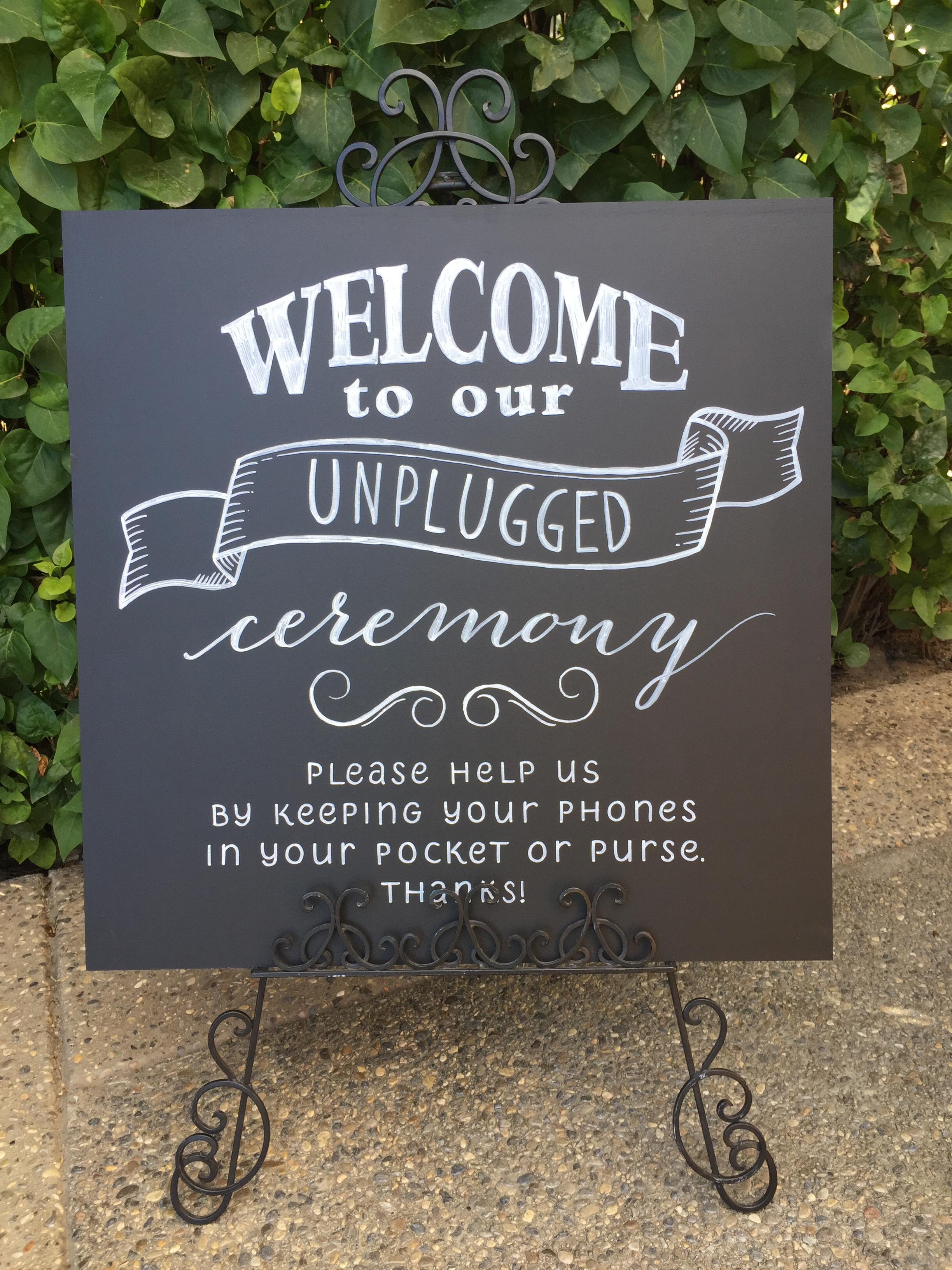 Please and thank you goes a long way - and having some eye-catching signage ensures everyone will follow the rules.