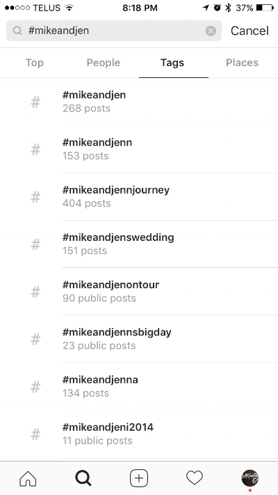 How to check:  1. Open your Instagram app  2. Use the bottom tabs and tap on the Search icon  3. type your hashtag at the top  4. Select the TAGS tab at the top to see all the hashtags 5. The number of posts will be under the hashtag list. Consider using the hashtag if there are fewer than 20-30 posts!