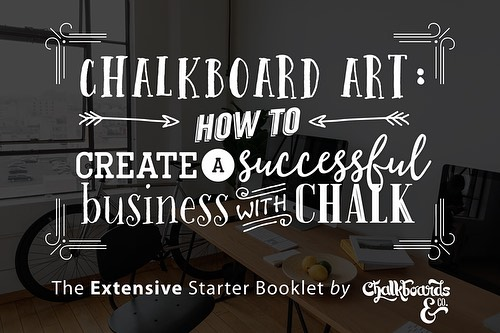 *** $100 off until April 9th *** Start your own home-based chalkboard art business with our extensive ebooklet! $100 off now until April 9th. Link in bio. Act now!! #smallbusiness #chalkboardart #chalkboardbusiness #homebusiness