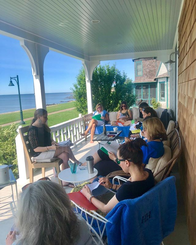 Another amazing day here in old Saybrook ❤️ full of meaningful conversations and connections, nourishing meals by @estercooks @nourishedbylaur and plenty of rest and relaxation for these amazing participants! (Massage, acupuncture and more 😊) Tonight we're getting ready for heart chakra yoga and a crystal workshop! . . #womensretreat #womensretreats #retreat #retreats #retreatyourself #ct #oldsaybrook #chakras #chakrahealing #holistichealth #holistichealing #holistic #grainfree #nourish #nourishment #relaxing #womenempowerment #womensupportingwomen