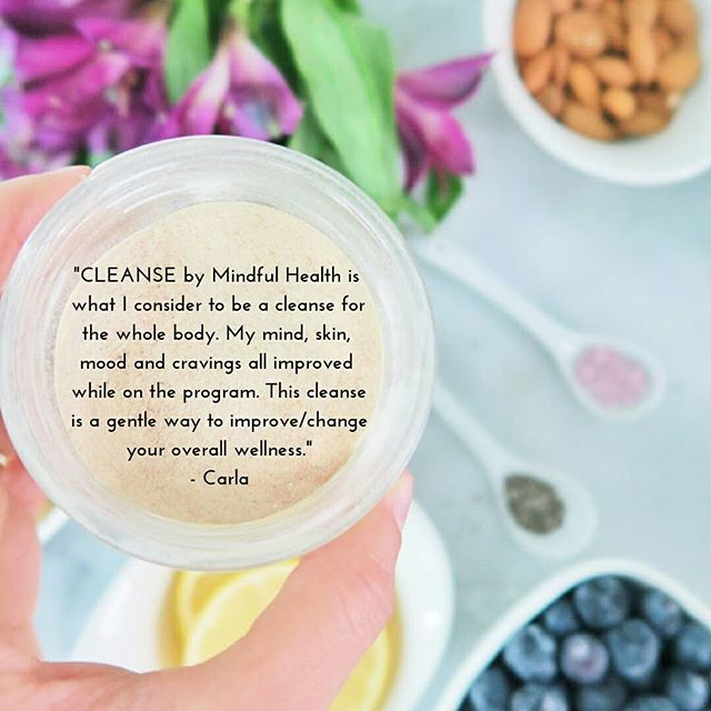 """What do you think of when you hear the word """"cleanse""""? If it's anything negative, prepare to leave those negative feelings behind!😜 . My 2 week Chakra Cleanse breaks the cleanse stigma of """"deprivation"""" and replaces it with NOURISHMENT, education and HEALING! . In the past when I would do cleanses - they would only be juice/smoothie cleanses and I would not feel good during, or after. That is why I created my Mindful Health cleanse. To help you feel good from the inside out - Scroll to see an example of what you can eat in a day - smoothies, snacks and a full meal, too! . This cleanse also helps kick cravings like caffeine and sugar! Not relying on these things is such an amazing thing. . So- does anyone want to #cleanse with me? Click the link in my bio or visit mindfulhealth.biz/cleanse for more info! (mention this post upon purchase and save $20!) . #chakracleanse #cleansing #springcleanse #springreset #reset #cleanse #nycholistichealth #nycnutrition #nycholisticnutritionist #healthycleanse #healingcleanse #mindfulhealth #mindfulhealthnyc"""