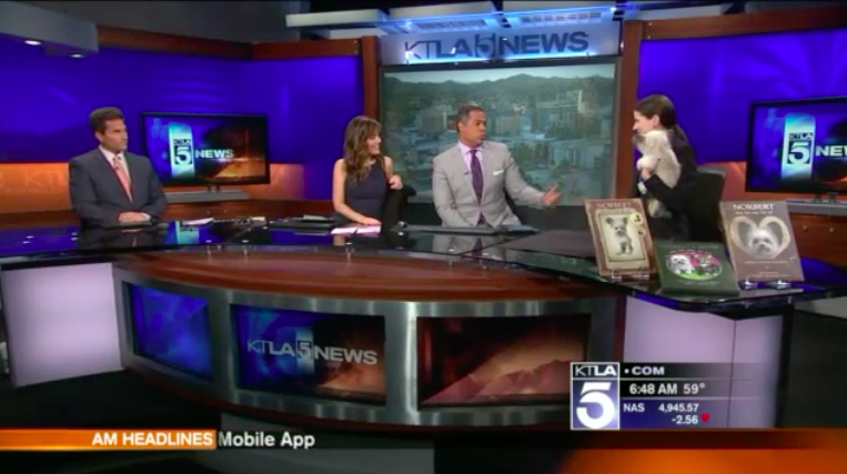 KTLA Morning News, April 2016