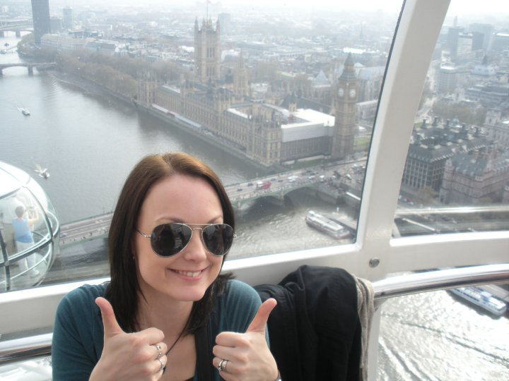 The first time I ever flew was when I was 28. My husband and I spent 10 days in England. It was a dream I had as long as I can remember. He made it come true like so many others.