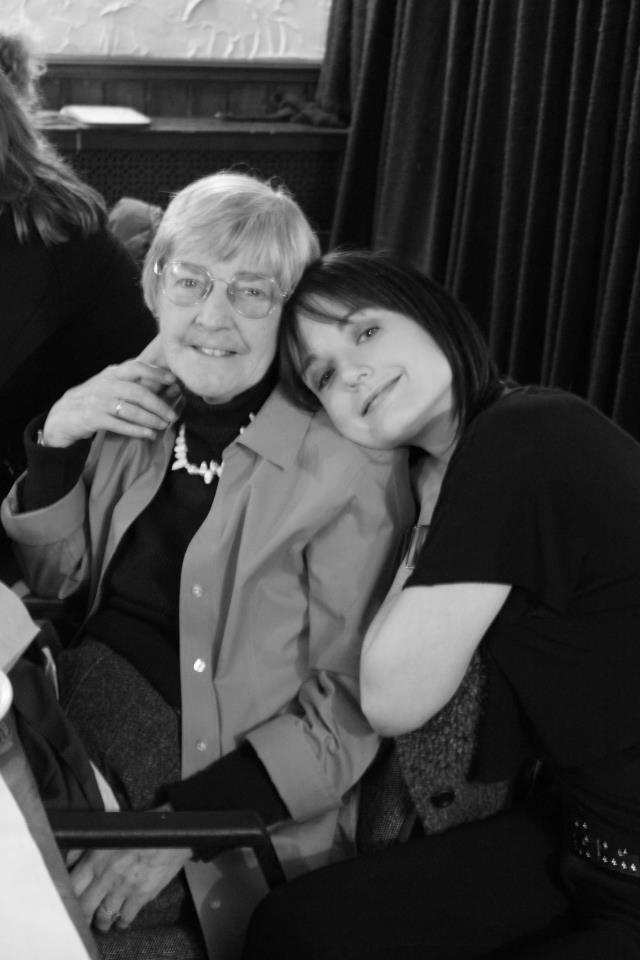 This is my Grandma Jean. She is an amazingly strong, funny, kind and stubbon lady. She's taught me a lot and I'm so grateful she is now in my daughter's life as well.