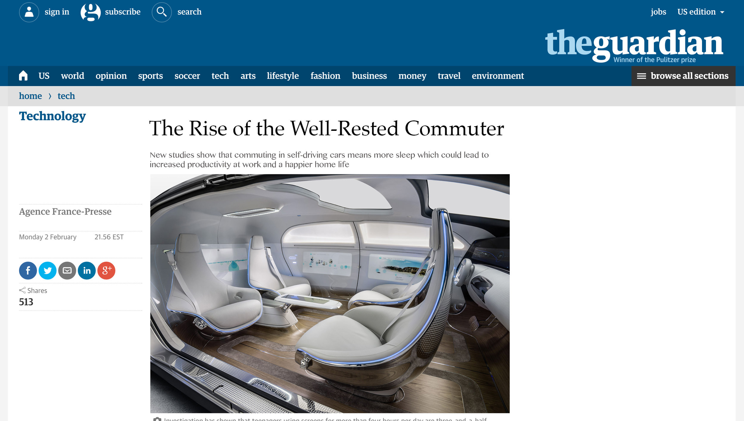 Guardian- The Rise of The Well Rested Commuter.jpg