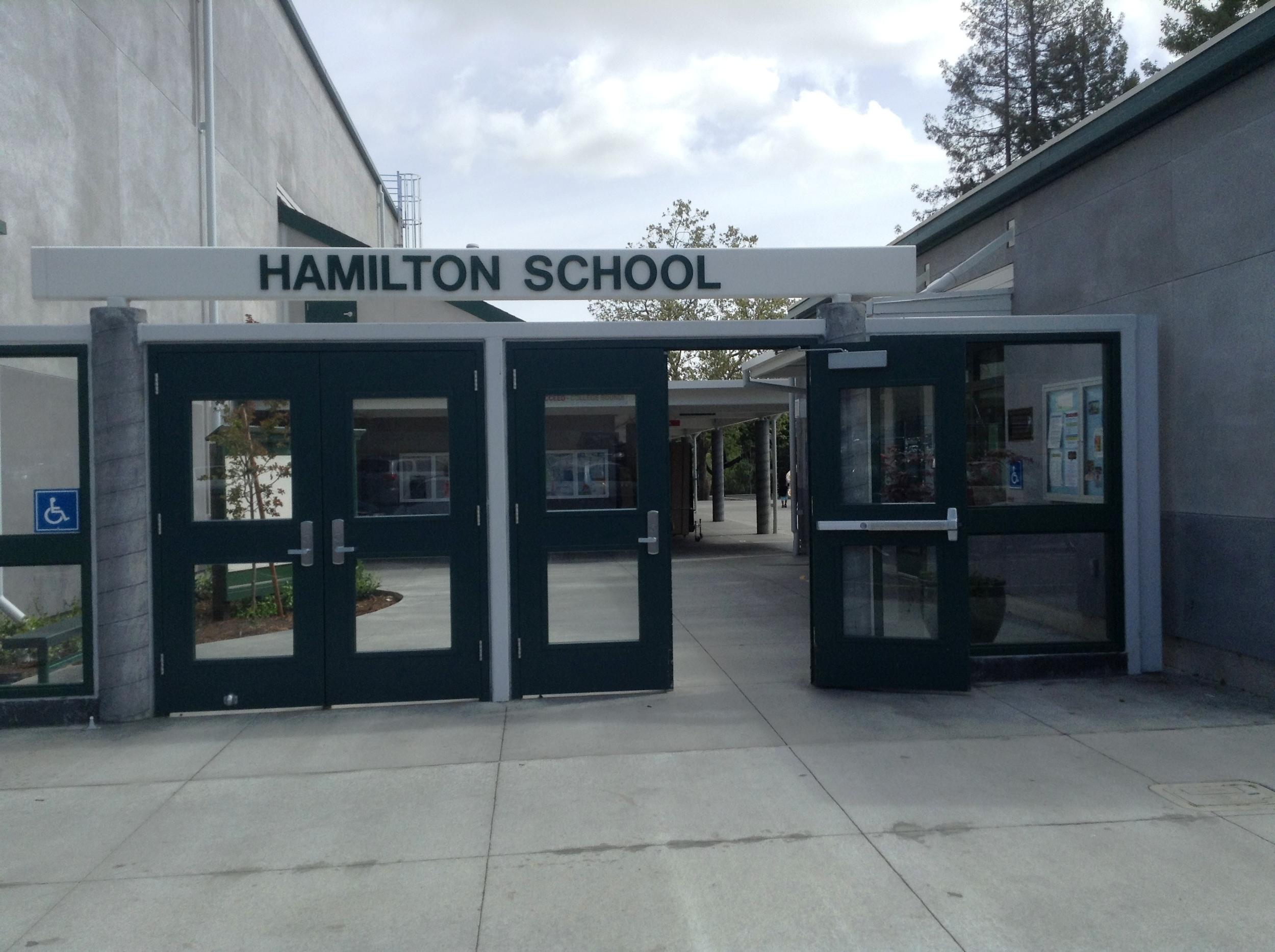 Hamilton School Front Entrance.JPG