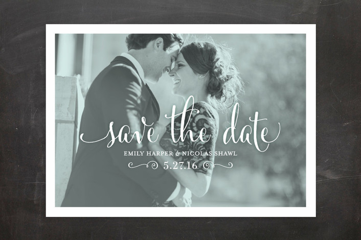 awash save the date cards for minted