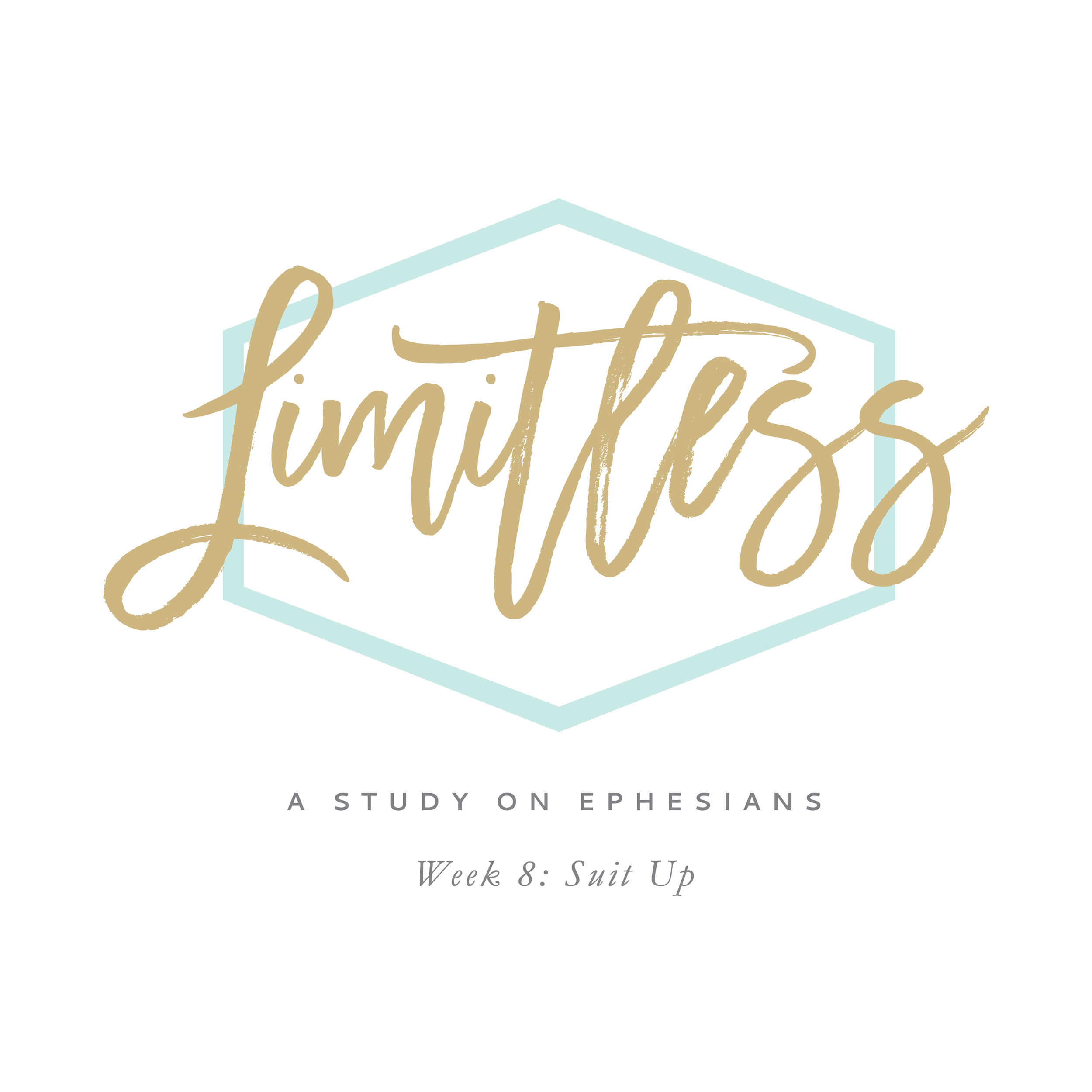 Limitless: A Study on Ephesians by Leslie Ann Jones. This podcast covers week 8 of material, found on page 46 of the workbook.