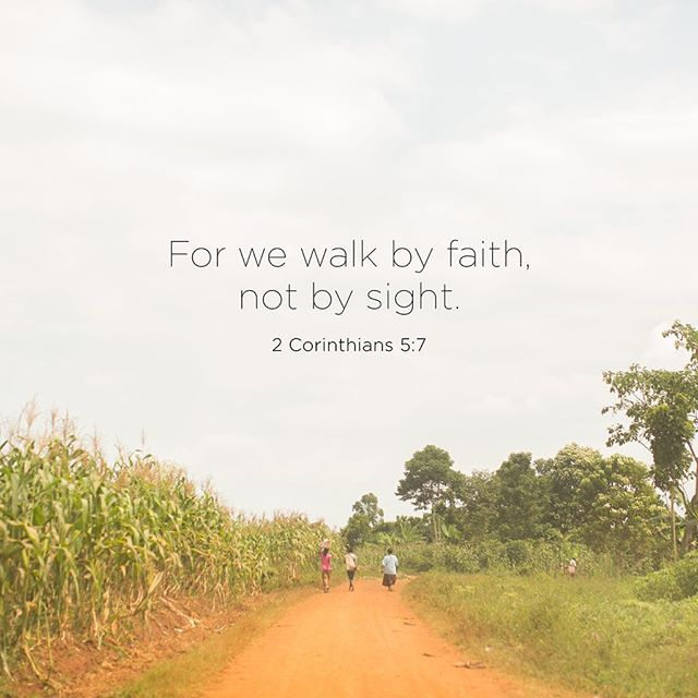 Walk by Faith, Not by Sight. Learn about Melinda and Michael Pierce's ministry in Uganda with Amazima Ministries, which provides food, education, spiritual nourishment, and job support in Jinja, Uganda. Ten percent of proceeds from the LAJ shop go to Amazima.