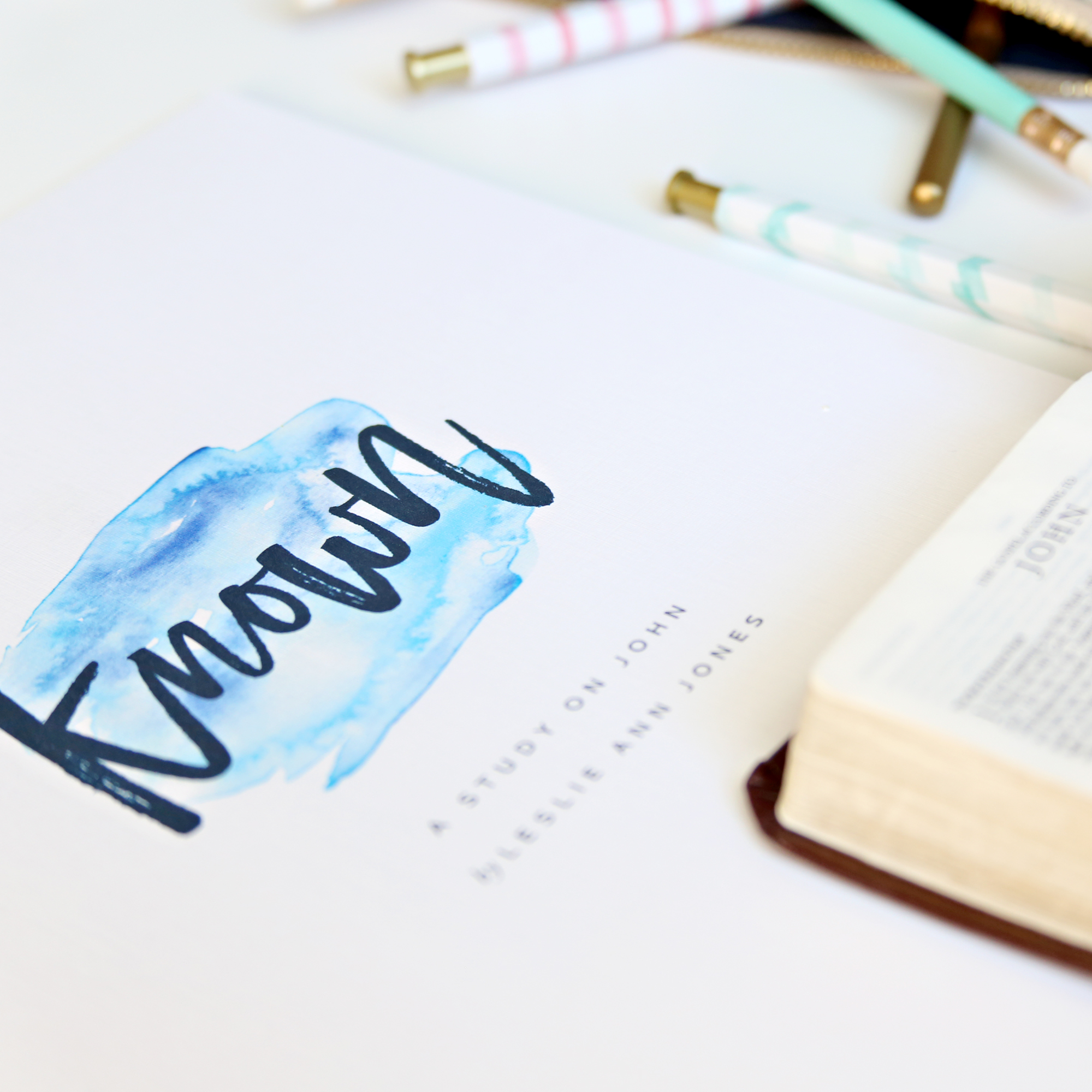 Known is a 9-week chapter-by-chapter, verse-by-verse study on the Gospel of John written and led by Leslie Ann Jones.