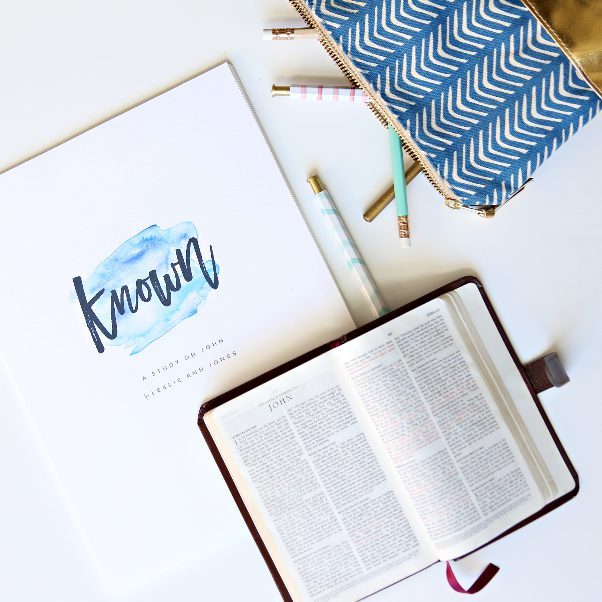 Known: A Study on the Gospel of John by Leslie Ann Jones