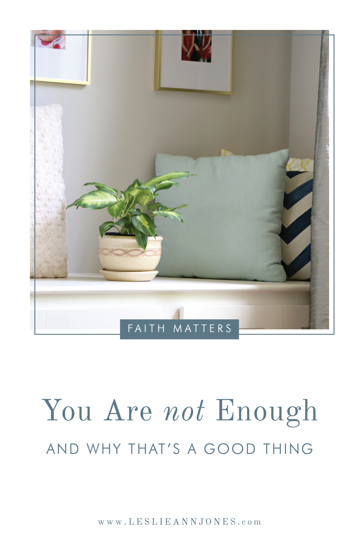 When You Don't Feel Like You're Enough - And Why That's a Good Thing