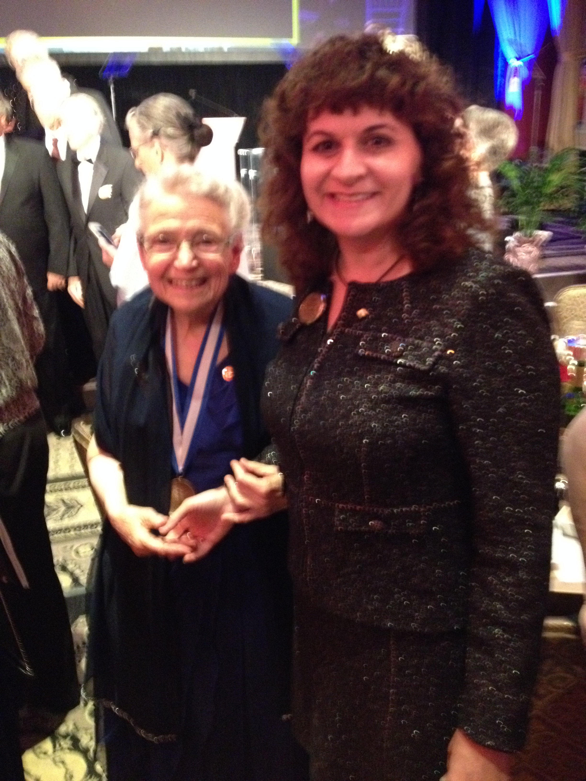 Karen with IEEE Medal of Honor Recipient Mildred Dresselhaus