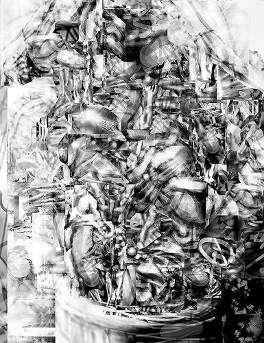 Jim Pearson  Anonymous Plant OM , 2013 digital inkjet print 8 x 6 inches