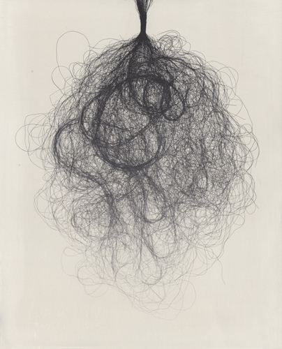 Althea Murphy-Price  Undone ,2012 lithograph 14 x 11 inches