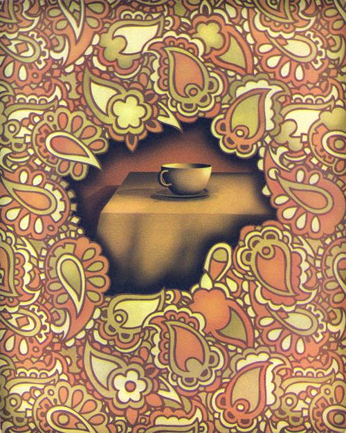 Janet Ballweg  The Heart's Desire , 2011 4-color intaglio 10 x 8 inches