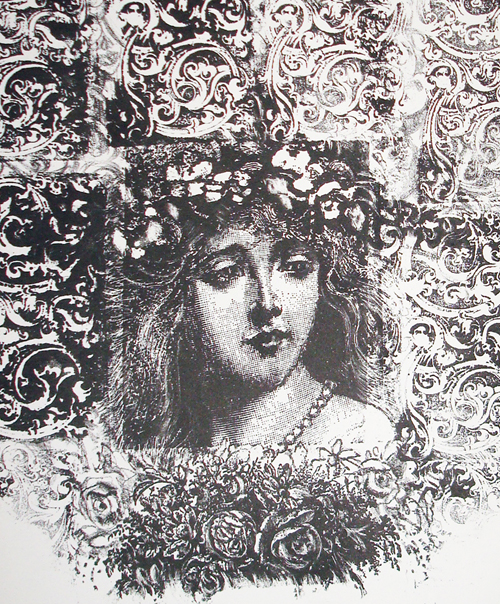 Ann Chernow  Spring , 2009 Stone lithograph 9.5 x 8.5 inches
