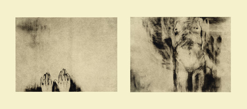 Kim Hindman  Untitled , 2007 polymer gravure  5 ¾ x 16 ¼ inches