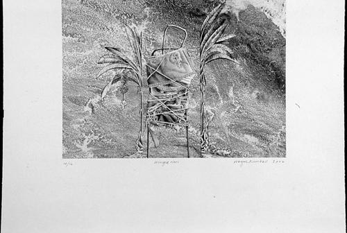 Wayne Kimball  Winged Neri , 2006 lithograph 11 x 15 inches