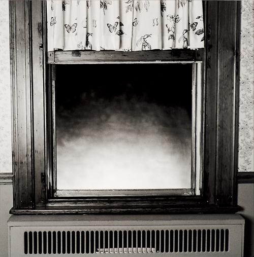 Keith Sharp  Window  Toned silver gelatin print