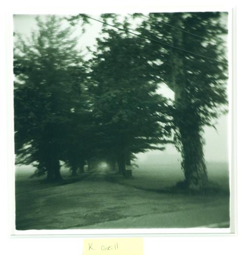 Karen E. O'Neill  Dim Passage Silver  Gelatin print