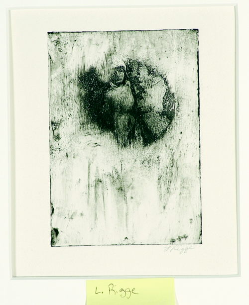 Lisa Rigge  Unfathomable  Photo etching