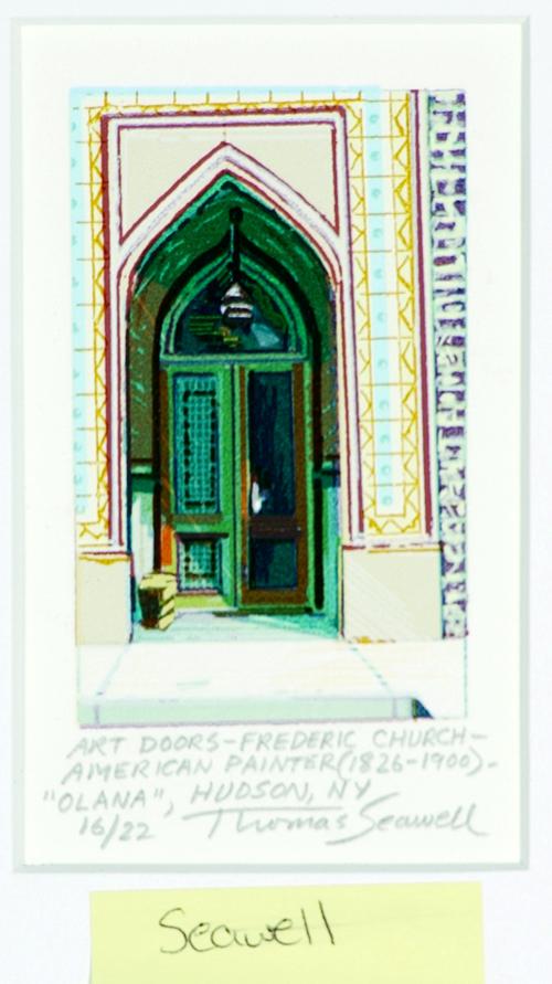 Thomas Seawell  Art Doors-Fredric Church  Serigraph