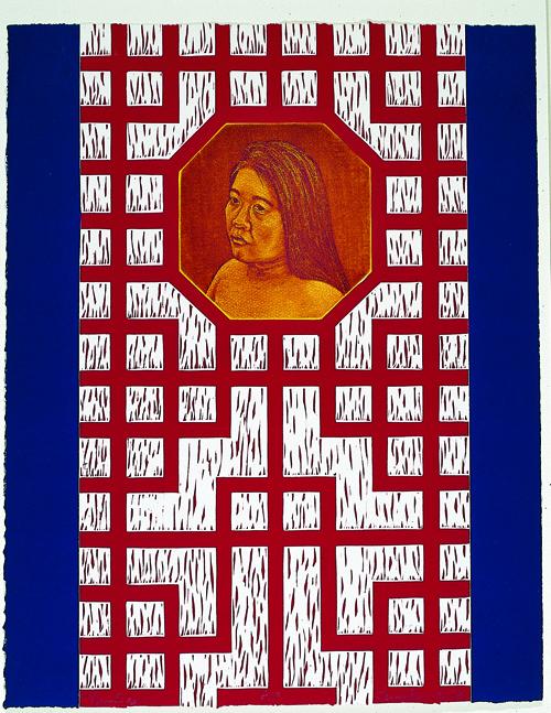 Tammy Harrington  New Day  Intaglio and linoleum